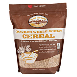 Cracked Whole Wheat Whole Grain Cereal 8/2lb