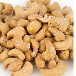 Cashews 240ct Roasted & Salted 15lb