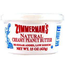 Natural Peanut Butter 12/15oz