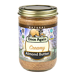 Natural Creamy Almond Butter 12/16oz