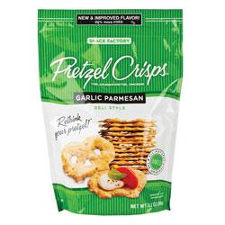 Pretzel Crisps, Garlic Parmesan 12/7.2oz